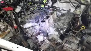 nissan frontier engine swap 2004 xterra head swap youtube