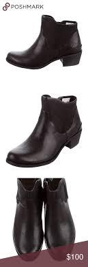 womens ankle boots low heel australia ugg australia penelope us 7 black ankle boot black ankle