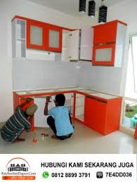 membuat kitchen set minimalis sendiri jasa kitchen set bintaro hub 081288993791 tukang kitchen set di