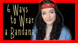 80s hair styles with scarves 6 ways to wear a bandana ohhitsonlyalice youtube