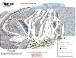 Wisconsin Dells Map by Mountain Biking Devil U0027s Head Resort