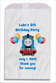 personalized party favor bags the tank engine personalized party favor bags 10