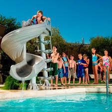 best design swimming pool and slide for your home u2013 radioritas com