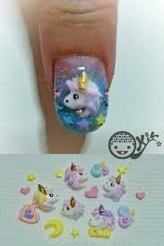unicorn acrylic 3d nail art by kkkiiikkk on deviantart