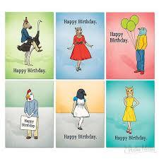 birthday cards boxed set archie mcphee u0026 co