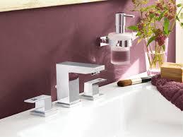 Grohe Single Hole Bathroom Faucet Eurocube Single Lever Basin Mixer 1 2