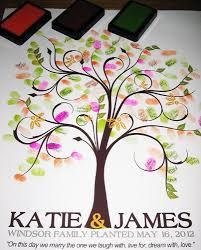 wedding tree guest book 20x30 tree 100 wedding fingerprint guest book tree