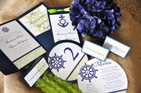 nautical wedding programs wedding menu wiregrass weddings