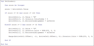 excel vba programming practice 2