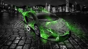 neon green lamborghini aventador lamborghini aventador abstract car 2013 el tony