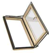 velux 53 1 4 in x 55 1 2 in egress top hinged roof window with