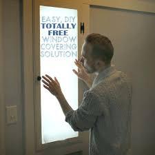 rv door glass 25 diy window covering tutorialswindow shade for rv door french