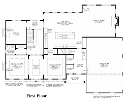 100 center hall colonial floor plans 100 open house plans