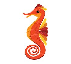 seahorse ocean clipart beach theme nautical printables