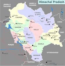 Pathankot India Map by Map Of Himachal Pradesh Png