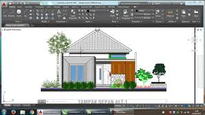 Home Design Autodesk Home Design Floor And Fasade 8 X 15 Meter Youtube