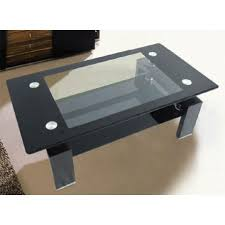 black and glass coffee table perry black glass coffee table cheap home furniture brilliant for 17