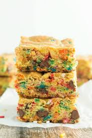 funfetti cake mix cookie bars gal on a mission