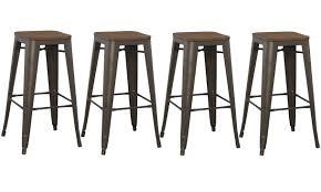industrial metal bar stools with backs bar stools metal bar stools with wood seat industrial metal stool