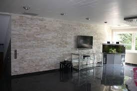 echte steinwand im wohnzimmer 2 riemchen klinker wohnzimmer home design inspiration