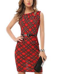 peplum dress sleeveless checkered mid length pencil peplum dress sofiq
