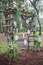wedding arches and arbors 31 charming woodland wedding arches and altars weddingomania
