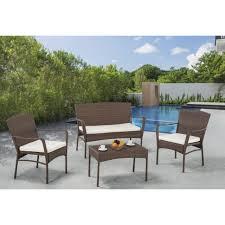 Garden Patio Furniture W Unlimited Wbd Sw1616set4 4 Pieces Arcadia Outdoor Garden Patio