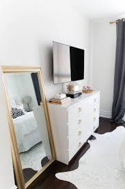 White Bedroom Tour Best 25 White Bedroom Dresser Ideas On Pinterest Malm Dressers