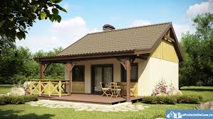 proiect casa mica parter bungalow small house plan striking free