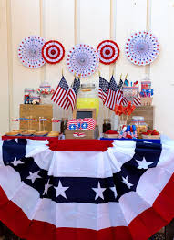 Fourth Of July Table Decoration Ideas Old Fashioned Fourth Of July Party Make Life Lovely