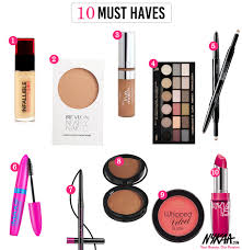 10 Must Haves For A by Makeup Must Haves You Mugeek Vidalondon