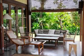 Terrace Dining Room Dining Room In Bali Villa Waringin