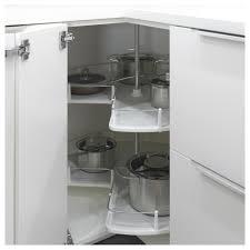 ikea lazy susan cabinet utrusta corner base cabinet carousel ikea