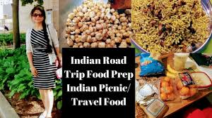 Travel Food images Indian road trip picnic food preparations ll indian travel trip jpg