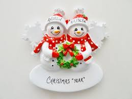 36 best personalized ornaments couples celebrating