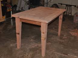 Woodworking Plans For Kitchen Tables by Make A Wooden Table That Is Easily Disassembled Make