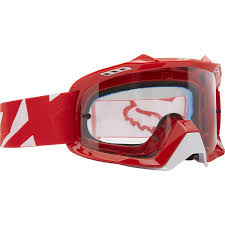 100 motocross goggles fox air defence motocross goggles race red 1stmx co uk