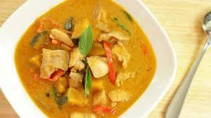Red Kitchen Recipes - thai red curry chicken u0026 squash recipe แกงเผ ดไก thai