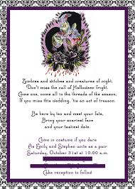 Halloween Free Invitations Printable by Wordings Free Printable Halloween Wedding Invitation Templates