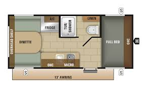 travel trailer floor plan 2018 avalon 17rd starcraft rv