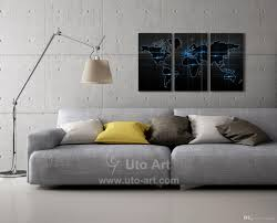 Home Decor Canvas Art by 2017 Home Decor Canvas Art Painting Digital Printing World Map