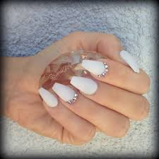 matte white coffin nails all about fashion pinterest white