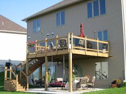 Drysnap Under Deck Rain Carrying System by Second Story Deck Using The Space Under Your Second Story Deck