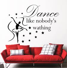 Wall Decals For Living Room Compare Prices On Dance Wall Decal Online Shopping Buy Low Price