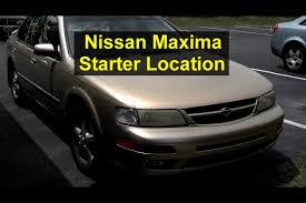 nissan maxima youtube video nissan maxima starter motor location votd youtube