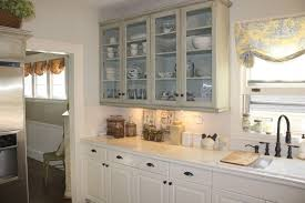 Glass Upper Cabinets Kitchen Design How To Make Do It Yourself Built In Kitchen
