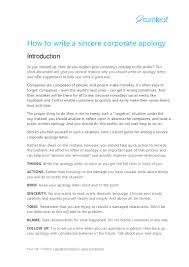 Business Introduction Letter To Potential Client by 10 Tips For Writing A Corporate Apology Letter