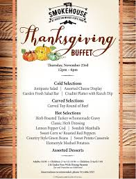 thankgiving day buffet hueston woods lodge u0026 conference center