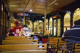 holiday lights trolley chicago five events to get you in the holiday spirit