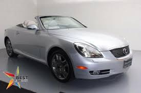 how much is a lexus sc430 used 2007 lexus sc 430 for sale pricing features edmunds
